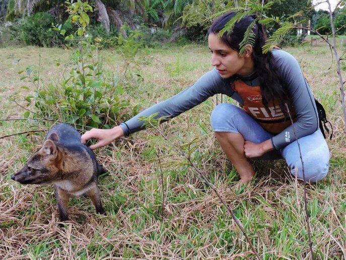 Luiza Cavallieri e o Sorro manso, Rio Aquidauana, MS