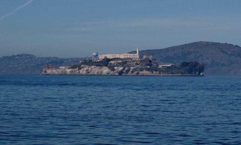 Ilha de Alcatraz, Baía de São Francisco, Califórnia (Foto: Viriato Moura)