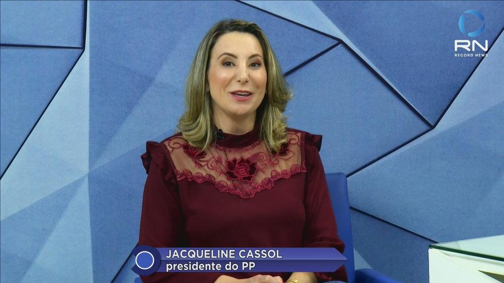 Jaqueline Cassol no Direto Ao Ponto  (VÍDEO) - Gente de Opinião