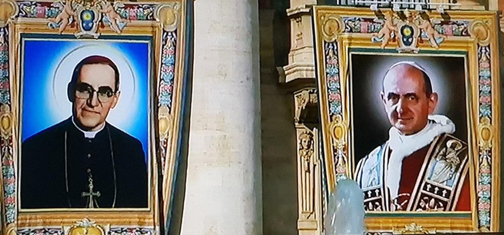 PAULO VI E OSCAR ROMERO PROCLAMADOS SANTOS - Frei Betto - Gente de Opinião
