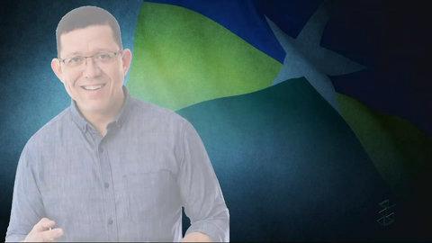 Governador eleito Marcos Rocha fala no Sistema Imagem de Comunicação (VÍDEO)