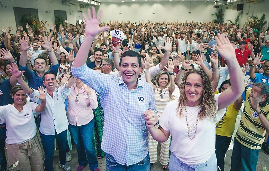Multidão de advogados superlota lançamento da chapa Advocacia em Primeiro Lugar - Gente de Opinião