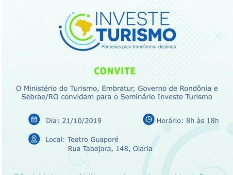 Sistema Fecomércio/Sesc/Senac apoia Investe Turismo