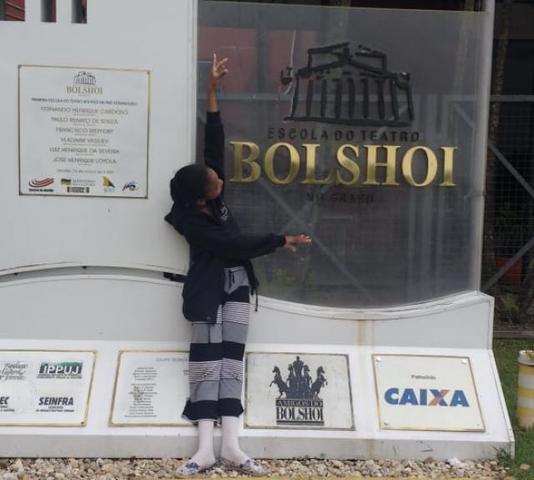 Balé Bolshoi - Rondoniense Afro-Indígena arruma as malas para estudar em Joinville  - Gente de Opinião