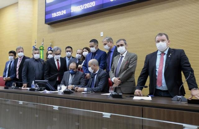Assembleia aprova Decreto de estado de Calamidade Pública e projetos que ampliam direitos em decorrência do Coronavírus - Gente de Opinião