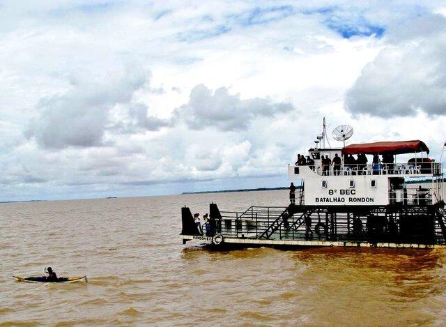Encontro das águas Tapajós-Amazonas - Gente de Opinião