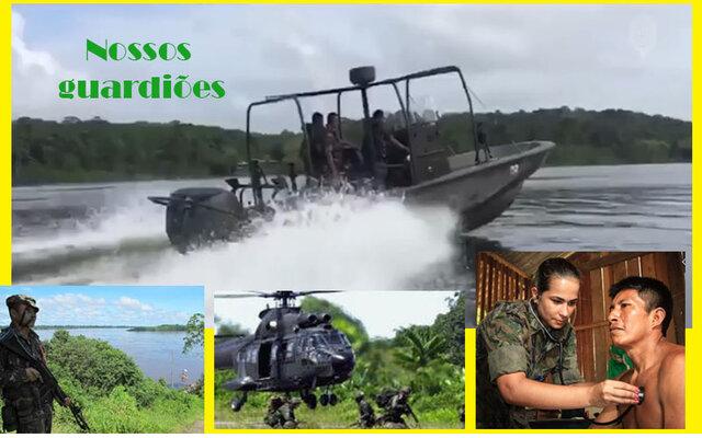 O que seria da nossa Amazônia sem a presença vital das nossas Forças Armadas? + Assembleia dá mais um passo no apoio à mulher  - Gente de Opinião