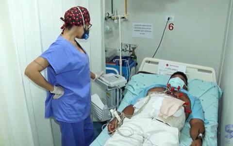 Médicos do Prontocordis oferecem tratamento cirúrgico a auxiliar de serviços gerais