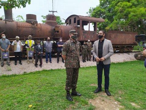 Lenha na Fogueira com a Lei Aldir Blanc e a missão especial do Exército no Memorial Rondon
