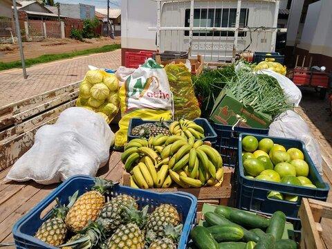 Prefeitura de Rolim de Moura distribui 4 toneladas de alimentos do PAA