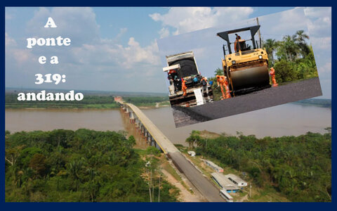 Ponte não será uma das 20 mil obras abandonadas + Governo aperta o cerco + Vergonha: crime organizado é quem manda