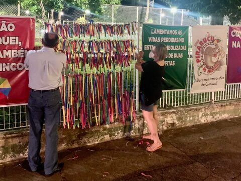 Painel em homenagem à vítimas da Covid é alvo de ataque em Porto Velho