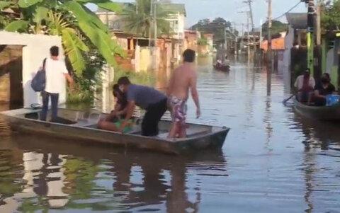 Acre já registra centenas de famílias afetadas devido às cheias, veja o vídeo.