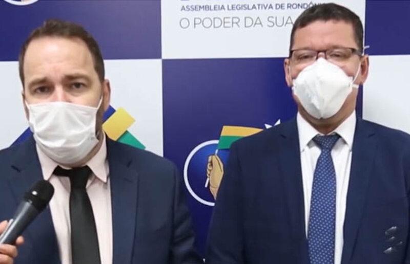 """ALE e Governador Marcos Rocha anunciam o programa """"Tchau Poeira"""""""