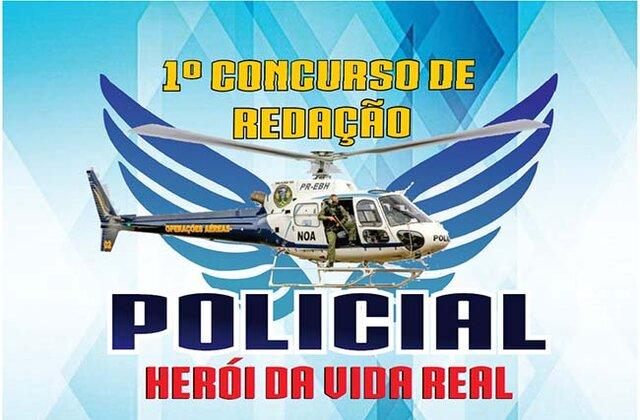 """Governo de Rondônia vai lançar concurso de redação """"Policial, herói da vida real"""" para estudantes do ensino fundamental"""
