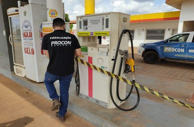 Procon realiza operação para coibir aumento abusivo de preços em postos de combustíveis em Rondônia