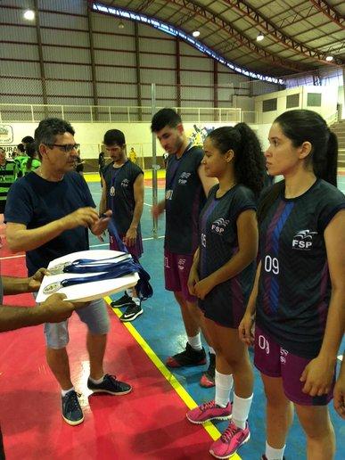 FSP/Femurados campeã no voleibol misto