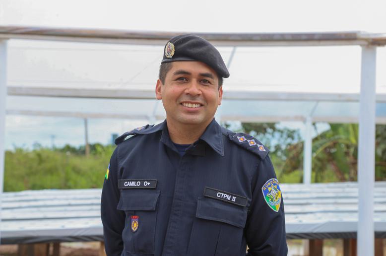 Capitão Irvison Camilo_Diretor Geral do CTPM II