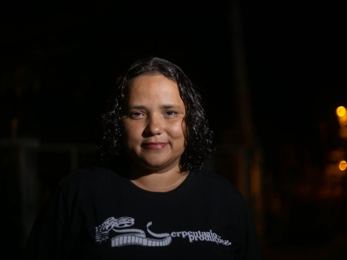 Documentarista Andréia Machado