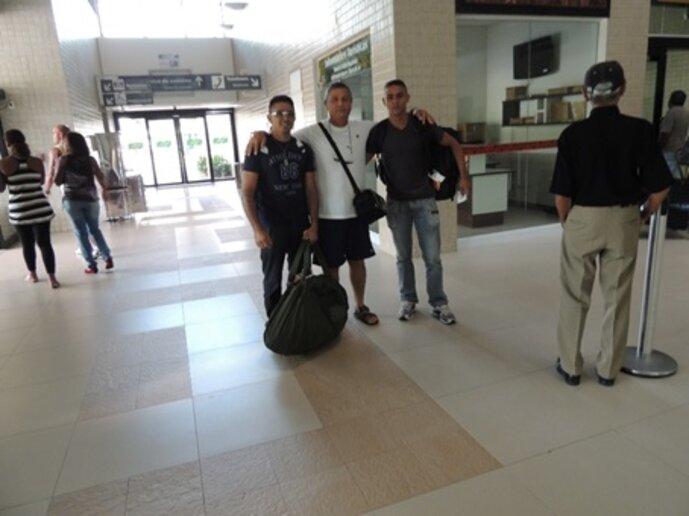Chegada da Equipe de Apoio, Cruzeiro do Sul, AC