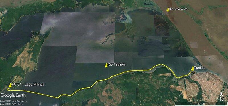 1° Lance (Santarém - Lago Maripá)
