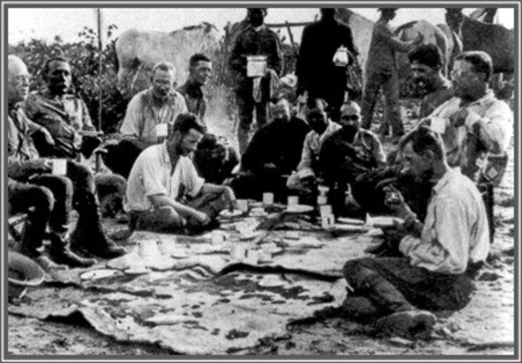 Roosevelt e Rondon – café da manhã no Cerrado