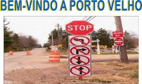 TRÂNSITO DE PORTO VELHO...