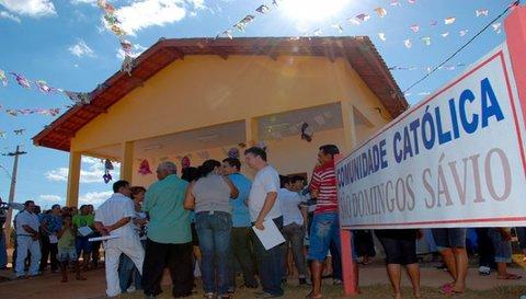 Santo Antônio Energia entrega Igreja em reassentamento