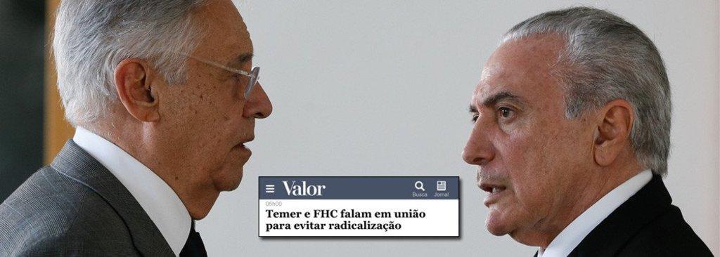 FHC reforça sua aliança com Temer - Gente de Opinião