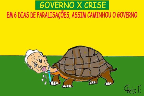 GOVERNO X CRISE