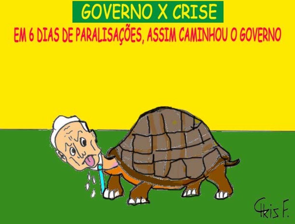 GOVERNO X CRISE - Gente de Opinião