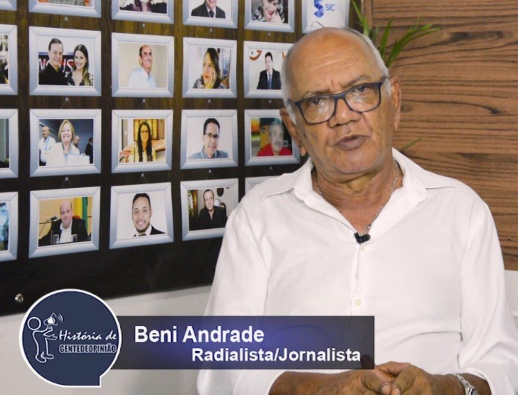 O COMPOSITOR DE UMA MÚSICA SÓ: BENI ANDRADE - Gente de Opinião