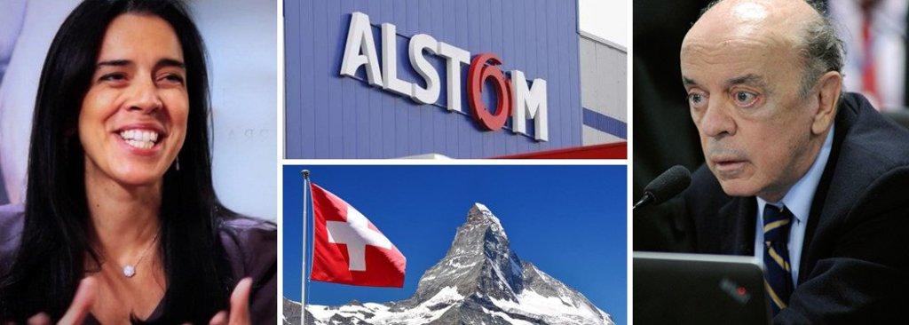 Filha de Serra recebeu 400 mil euros de lobista da Alstom na Suíça  - Gente de Opinião