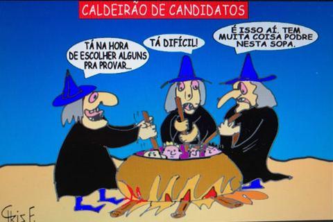 CALDEIRÃO DE CANDIDATOS