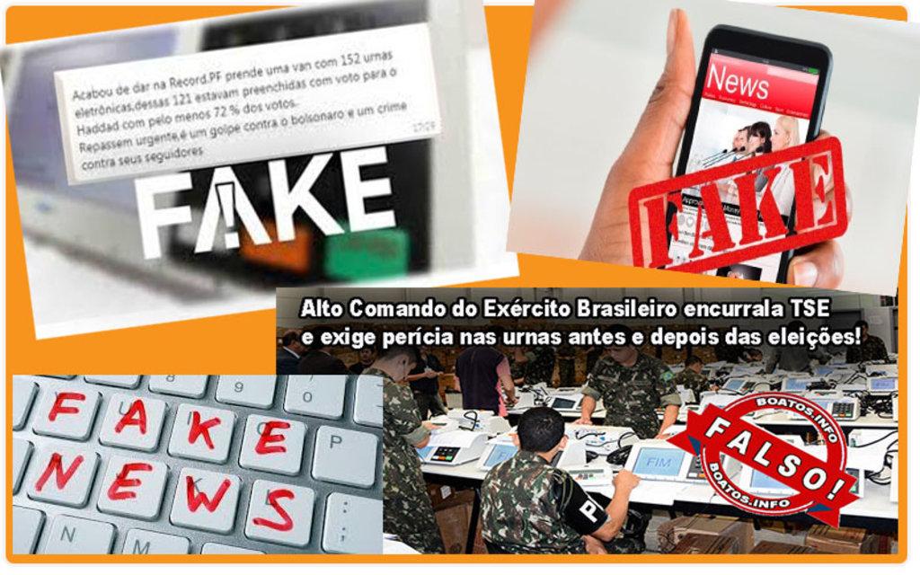 As fake news estão dominando novamente a campanha eleitoral - Por Sérgio Pires - Gente de Opinião