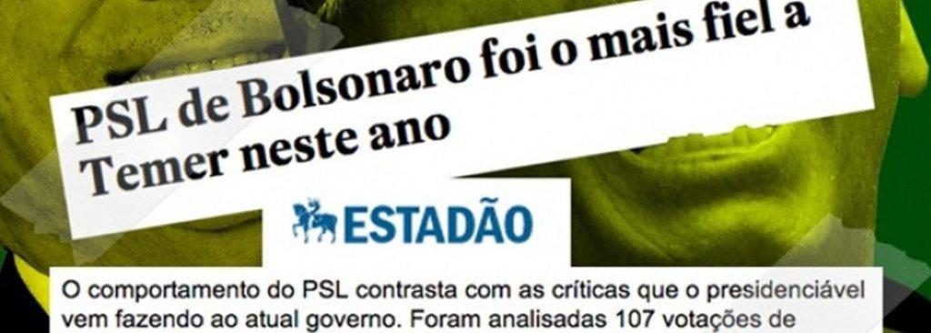 CUT: partido de Bolsonaro foi o que mais apoiou Temer a retirar direitos do povo - Gente de Opinião