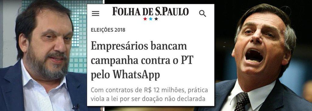 Diretor do Datafolha: salto de Bolsonaro nas pesquisas indica fraude - Gente de Opinião
