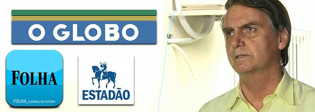 Na primeira coletiva, Bolsonaro barra Folha, Globo e Estado  - Gente de Opinião