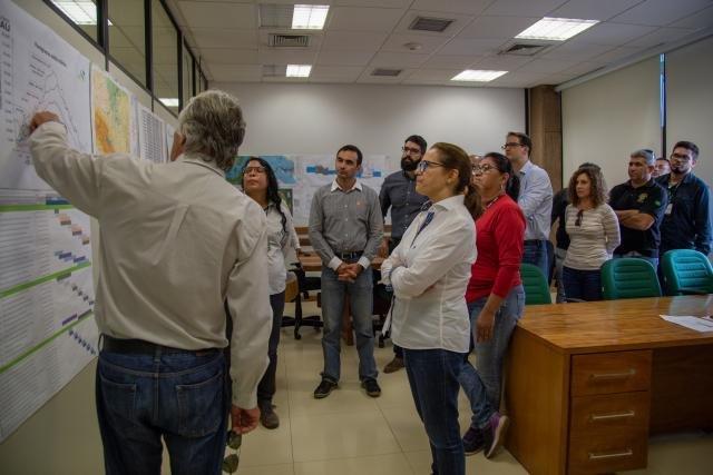 UHE Jirau recebe técnicos da Agência nacional de Águas e Sipam - Gente de Opinião
