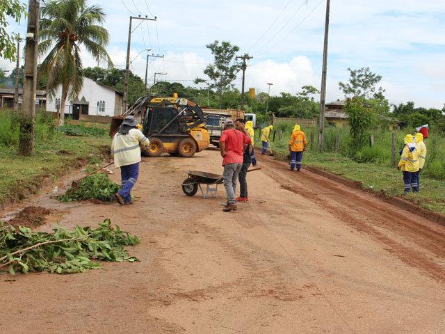 CONETUR: Começa o mutirão de limpeza em Jacy-Paraná - Gente de Opinião