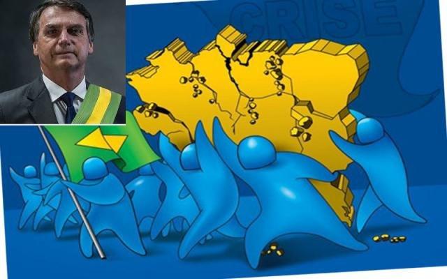 SÓ COM O APOIO DA GRANDE MAIORIA DOS BRASILEIROS, BOLSONARO CONSEGUIRÁ NOS LIVRAR DA FÚRIA E DO ATRASO - Gente de Opinião