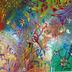 Carnaval Gestual, acrílica sobre tela (Viriato Moura)