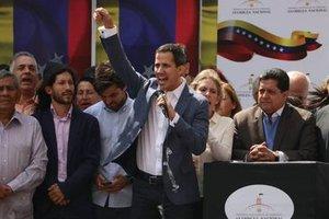 Juan Guaidó se autoproclamou presidente interino venezuelano Juan Guaidó/Redes Sociais/Direitos Reservados - Gente de Opinião
