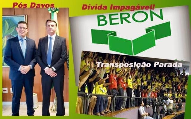 REIVINDICAÇÕES AO GOVERNO BOLSONARO: DÍVIDAS DO BERON, DA CAERD E TRANSPOSIÇÃO FORAM PRINCIPAIS TEMAS - Gente de Opinião