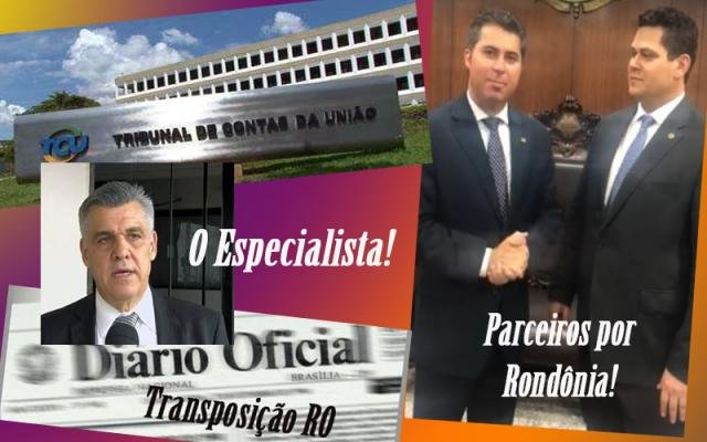 TRANSPOSIÇÃO: Senador mobiliza Onix Lorenzoni e Davi Alcolumbre para apoiar Rondonienses - Gente de Opinião