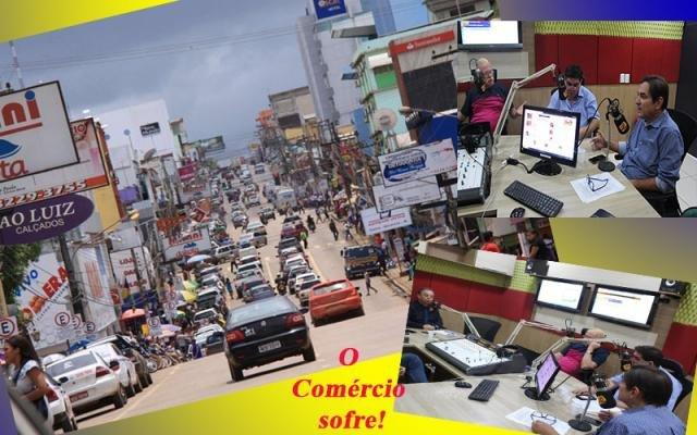 Os rondonienses invadiram Brasília -  Hildon abre o jogo na TV - Comércio protesta contra os ambulantes e da desorganização do centro da cidade - Gente de Opinião