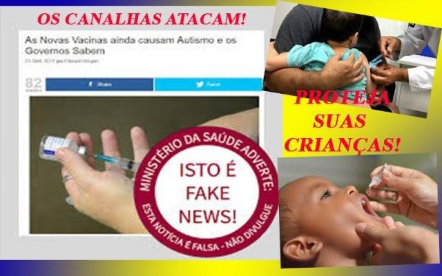 Fake News contra vacinas podem resultar em crianças deficientes e em mortes - Mais um prefeito cai - Garçon é sempre lembrado - Gente de Opinião