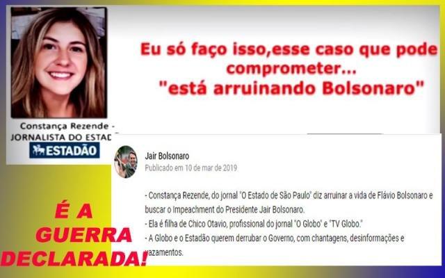 BOLSONARO CONTRA ESTADÃO E GLOBO - LADRÕES E BURROS, AINDA POR CIMA! - UM PRESIDENTE QUE NÃO PARA! - Gente de Opinião