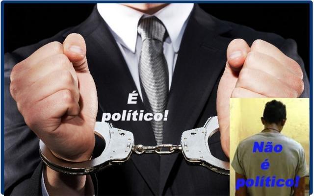 É DEMOCRÁTICO QUE EMPRESÁRIOS CRIMINOSOS E BANDIDÕES TENHAM PRIVILÉGIOS E OS NOMES DE POLÍTICOS SEJAM CONSPURCADOS? - Gente de Opinião