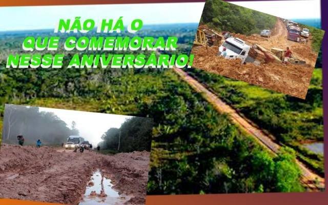 UM TRISTE ANIVERSÁRIO: A BR 319 COMEÇOU HÁ 50 ANOS E ATÉ HOJE É UMA CHAGA ABERTA NO CORAÇÃO DA AMAZÔNIA - Gente de Opinião